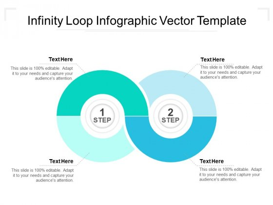 Infinity Loop Infographic Vector Template Ppt Powerpoint Presentation Inspiration Designs Download Pdf Powerpoint Templates