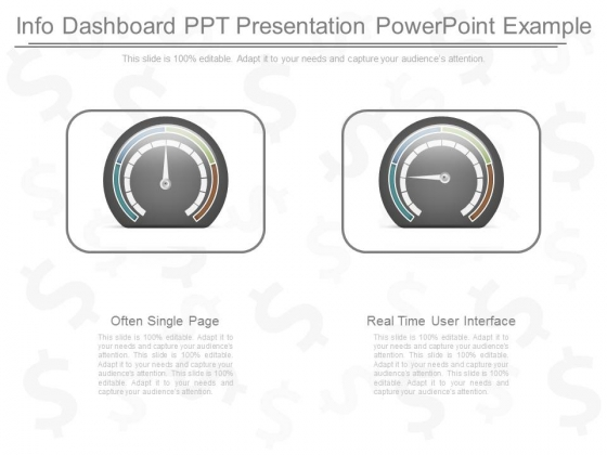 Info Dashboard Ppt Presentation Powerpoint Example