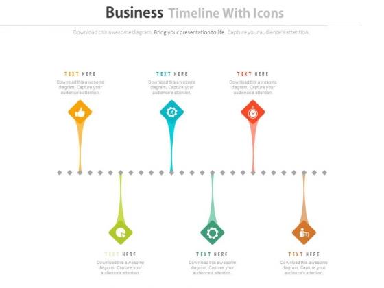 Infographic Business Timeline Design Powerpoint Slides