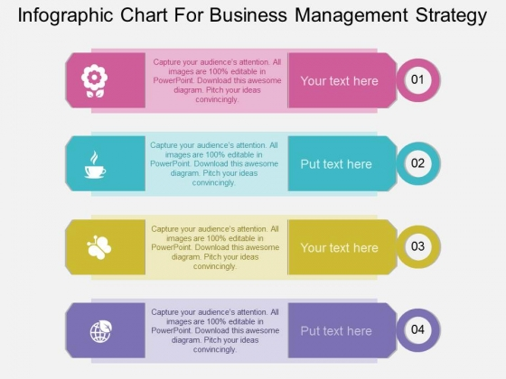 Infographic Chart For Business Management Strategy Powerpoint Template