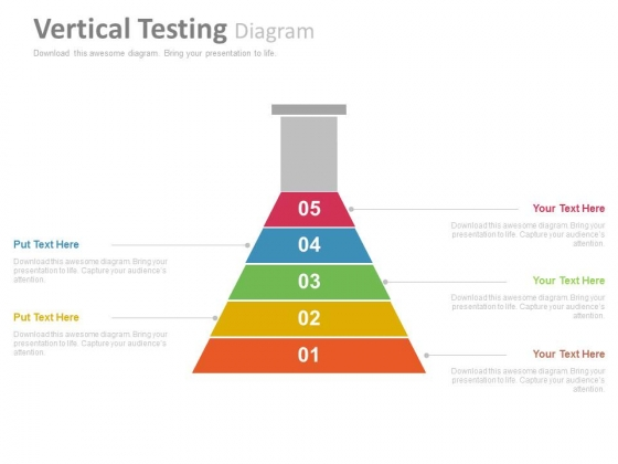 Infographic Diagram For Strategic Planners Powerpoint Template