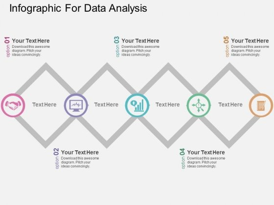 Infographic For Data Analysis Powerpoint Templates