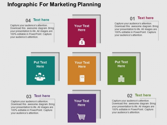 Infographic For Marketing Planning Powerpoint Templates