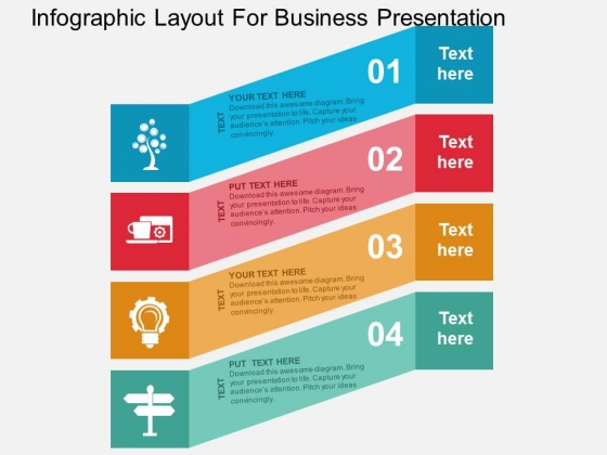 Infographic Layout For Business Presentation Powerpoint Templates