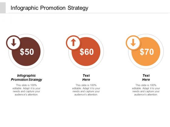 Infographic Promotion Strategy Ppt PowerPoint Presentation Model Slide Portrait Cpb
