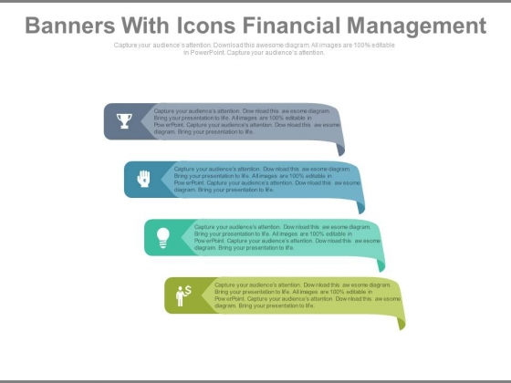 Infographic Tags For Good Marketing Strategy Powerpoint Template