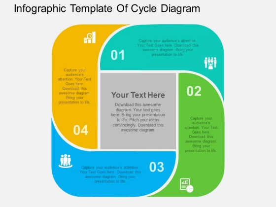 Infographic Template Of Cycle Diagram Powerpoint Templates