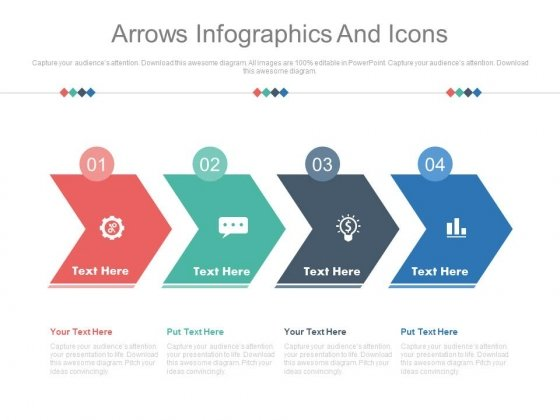 Infographics For Corporate Level Strategies Powerpoint Template