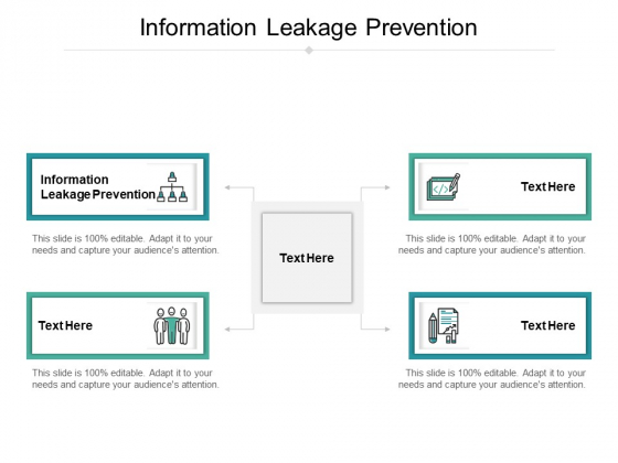 Information Leakage Prevention Ppt PowerPoint Presentation Model Examples Cpb Pdf