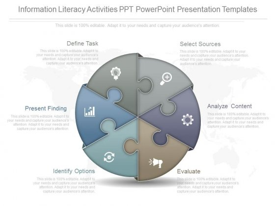 Information Literacy Activities Ppt Powerpoint Presentation Templates
