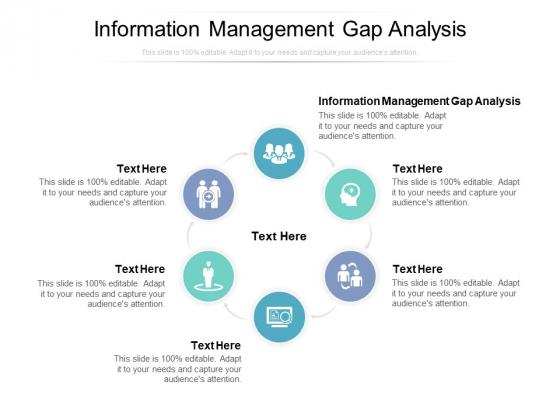 Information Management Gap Analysis Ppt PowerPoint Presentation Slides Guidelines Cpb