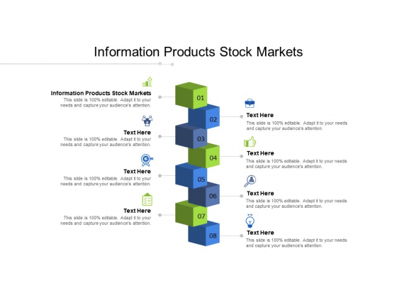 Information Products Stock Markets Ppt PowerPoint Presentation Infographics Layout Ideas Cpb Pdf
