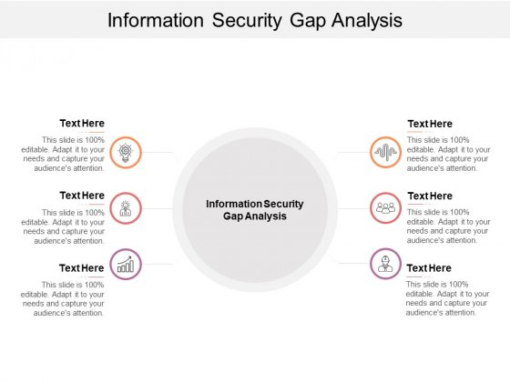 Information Security Gap Analysis Ppt PowerPoint Presentation Show Information Cpb