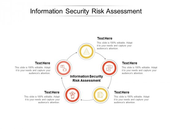 Information Security Risk Assessment Ppt PowerPoint Presentation Professional Maker Cpb
