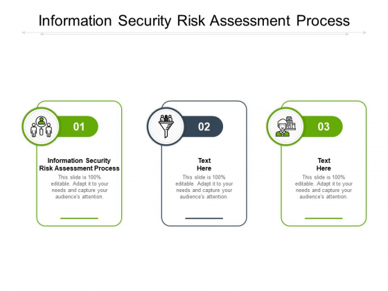 Information Security Risk Assessment Process Ppt PowerPoint Presentation Icon Influencers Cpb
