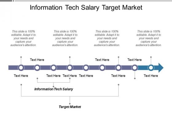 Information Tech Salary Target Market Ppt PowerPoint Presentation Model Slides