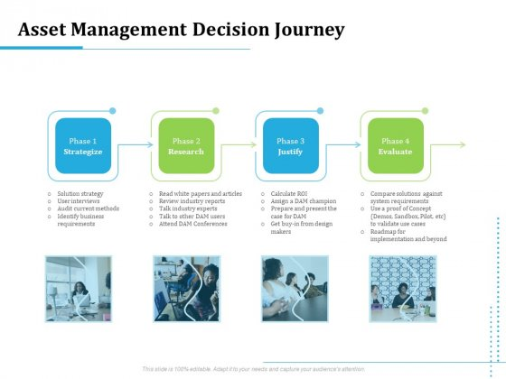 Information Technology Functions Management Asset Management Decision Journey Ppt Styles Files PDF