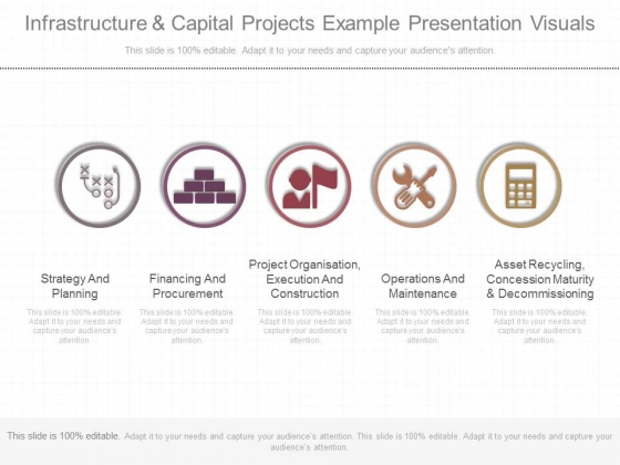Infrastructure And Capital Projects Example Presentation Visuals