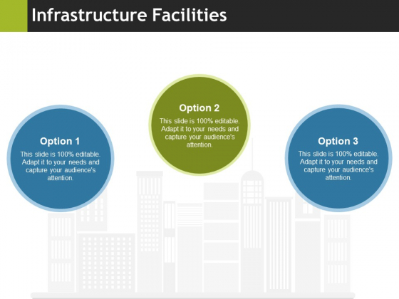 Infrastructure Facilities Ppt PowerPoint Presentation Professional Background Designs