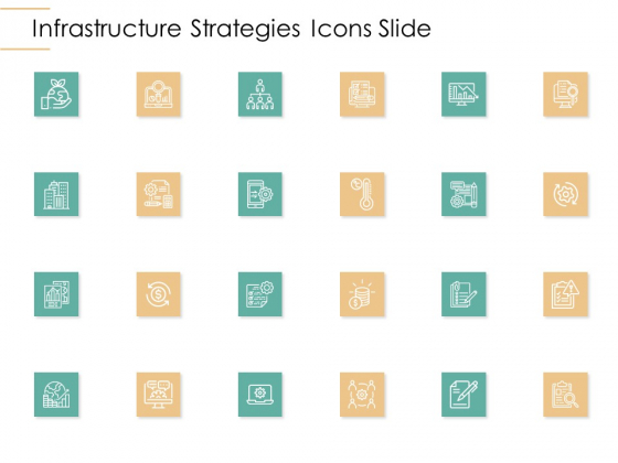 Infrastructure Strategies Icons Slide Ppt Styles Sample PDF