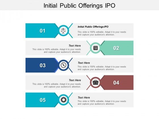 Initial Public Offerings IPO Ppt PowerPoint Presentation Inspiration Guidelines Cpb