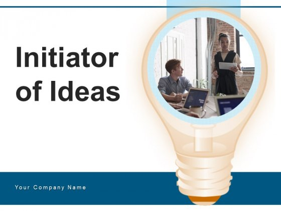Initiator Of Ideas Research Strategy Target Ppt PowerPoint Presentation Complete Deck