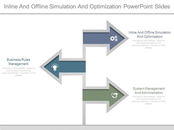Inline And Offline Simulation And Optimization Powerpoint Slides