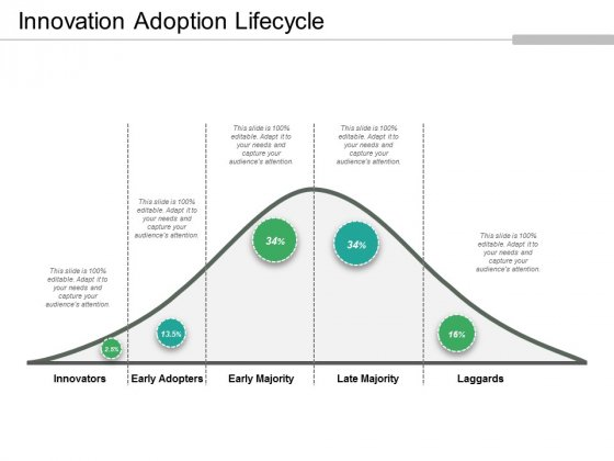 Innovation Adoption Lifecycle Ppt PowerPoint Presentation Model Template