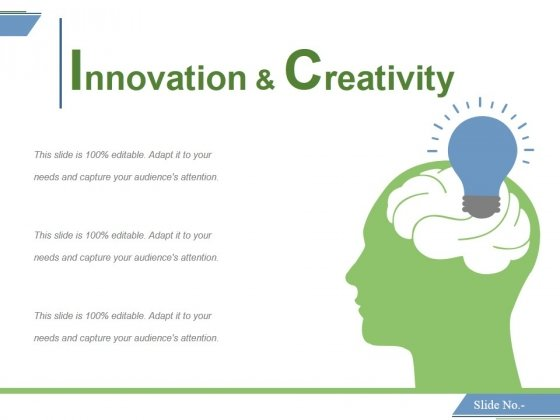 innovation and creativity ppt powerpoint presentation infographics