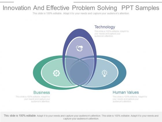 Innovation And Effective Problem Solving Ppt Samples