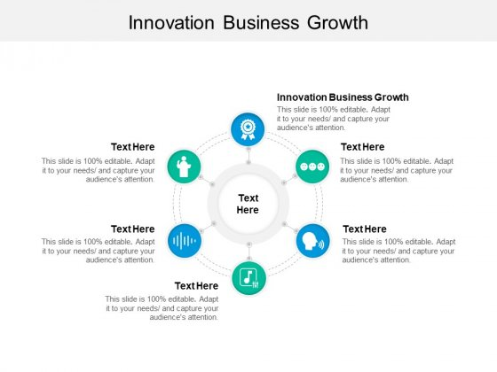 Innovation Business Growth Ppt PowerPoint Presentation Styles Objects Cpb