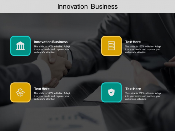 Innovation Business Ppt PowerPoint Presentation Styles Graphics Template Cpb Pdf