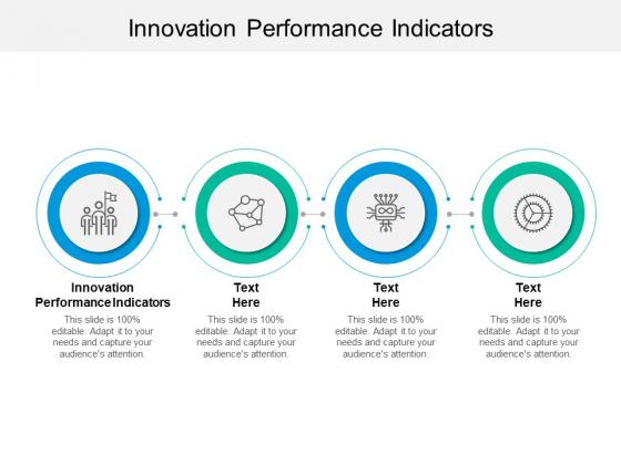 Innovation Performance Indicators Ppt PowerPoint Presentation Portfolio Introduction Cpb