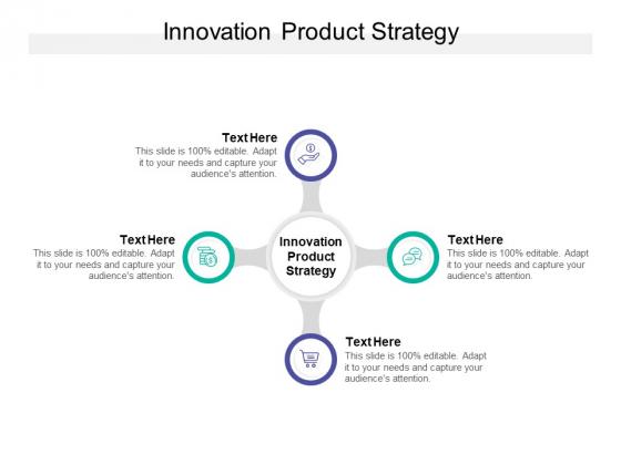 Innovation Product Strategy Ppt PowerPoint Presentation Portfolio Topics Cpb
