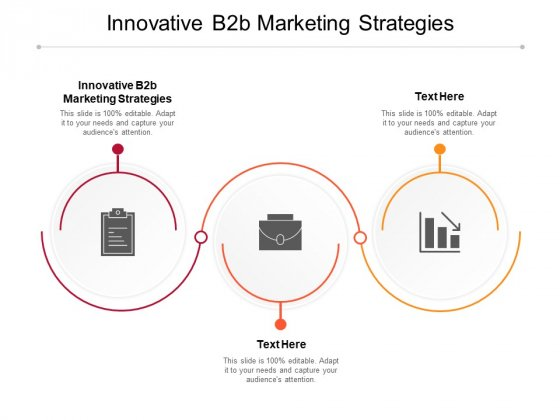 Innovative B2B Marketing Strategies Ppt PowerPoint Presentation Layouts Skills Cpb Pdf