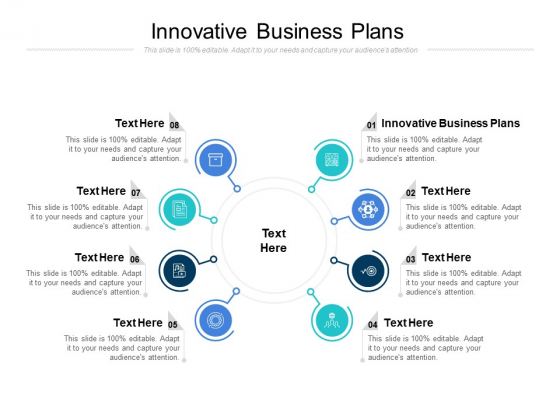 Innovative Business Plans Ppt PowerPoint Presentation Show Information Cpb