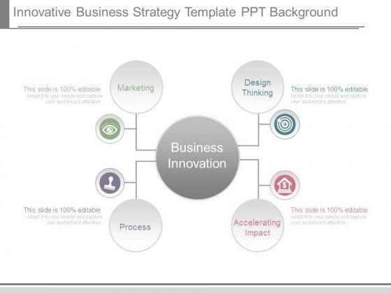 Innovative Business Strategy Template Ppt Background