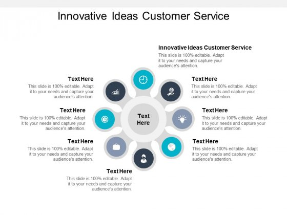 Innovative Ideas Customer Service Ppt PowerPoint Presentation Professional Examples Cpb