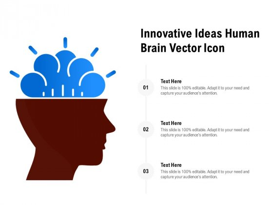 Innovative Ideas Human Brain Vector Icon Ppt PowerPoint Presentation Shapes