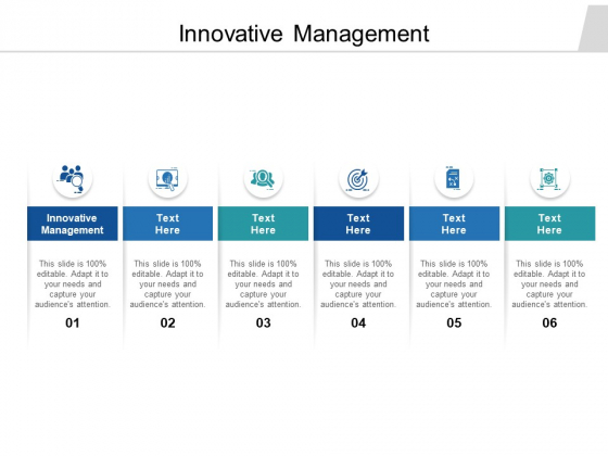 Innovative Management Ppt PowerPoint Presentation Show Sample Cpb