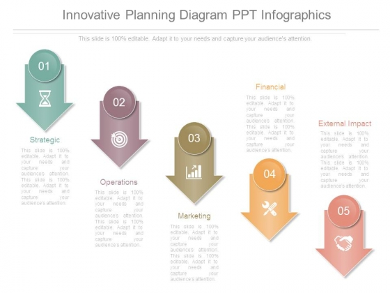 Innovative Planning Diagram Ppt Infographics