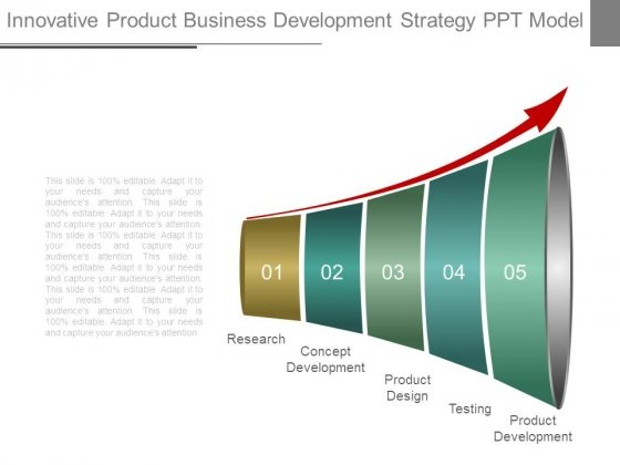 Innovative Product Business Development Strategy Ppt Model