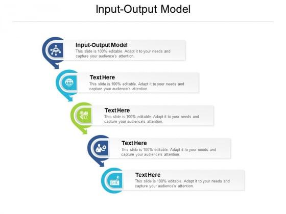 Input Output Model Ppt PowerPoint Presentation Ideas Graphics Tutorials Cpb Pdf