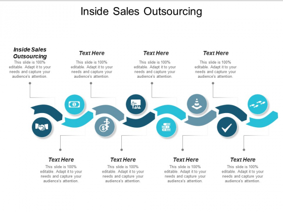 Inside Sales Outsourcing Ppt PowerPoint Presentation Summary Mockup Cpb