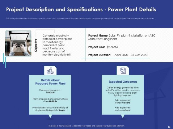 Installing_Solar_Plant_On_Commercial_Building_Ppt_PowerPoint_Presentation_Complete_Deck_With_Slides_Slide_24