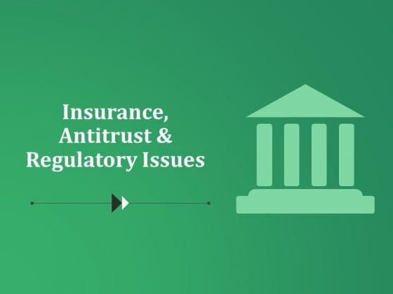 Insurance Antitrust And Regulatory Issues Ppt PowerPoint Presentation Model Design Templates