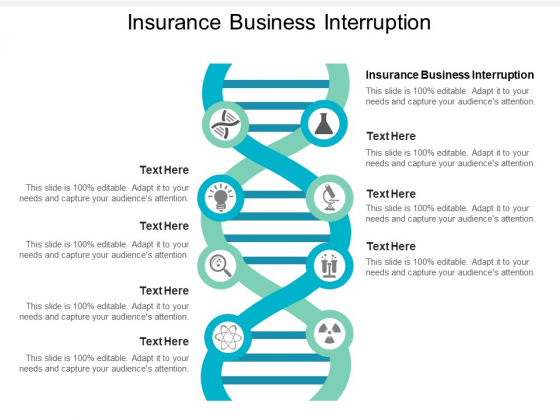 Insurance Business Interruption Ppt PowerPoint Presentationmodel Brochure Cpb