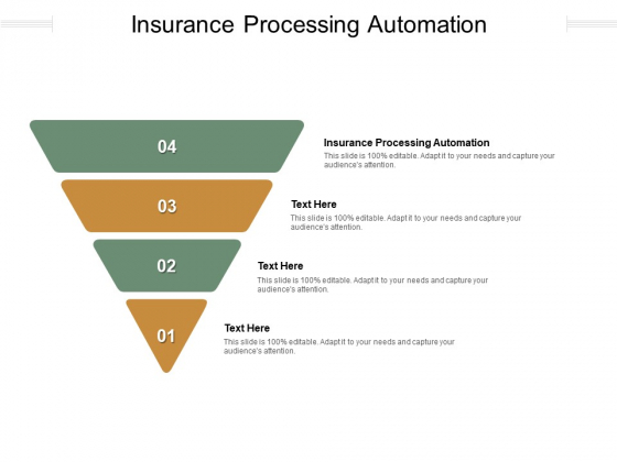 Insurance Processing Automation Ppt PowerPoint Presentation Styles Aids Cpb Pdf