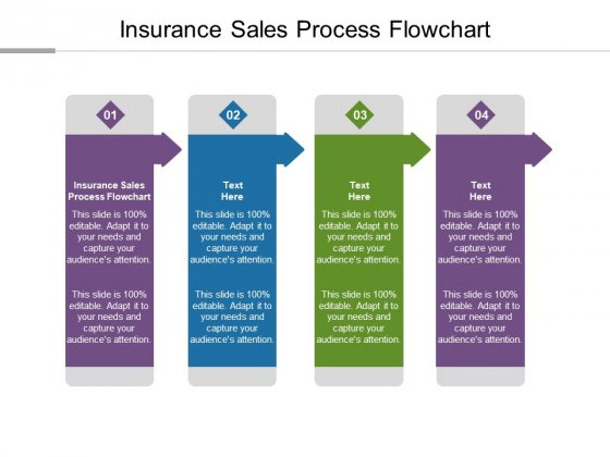 Insurance Sales Process Flowchart Ppt PowerPoint Presentation Portfolio Visuals Cpb