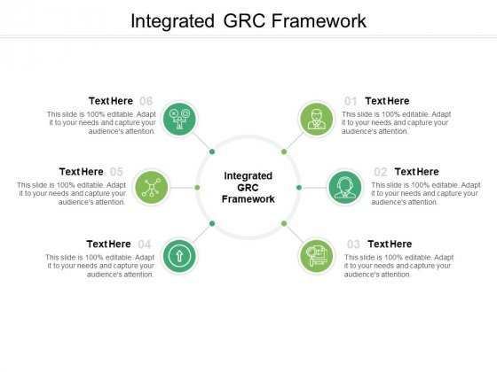 Integrated GRC Framework Ppt PowerPoint Presentation Model Design Ideas Cpb Pdf